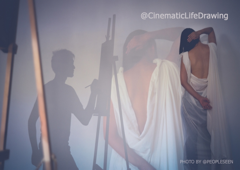 SHH presents: Cinematic Life Drawing
